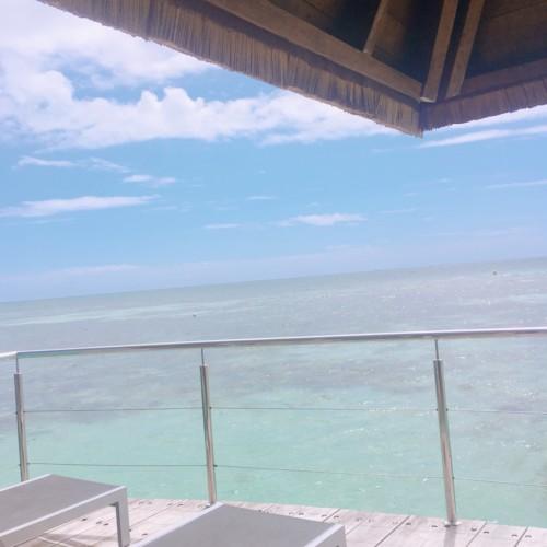 ニューカレドニア水上コテージの画像