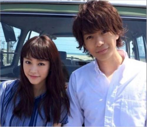 桐谷美玲と三浦翔平の画像