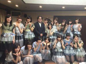 秋元康と乃木坂46の画像
