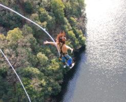 竜神大吊橋バンジージャンプの画像