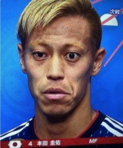 本田圭佑選手の画像