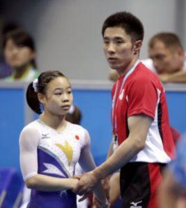 宮川紗江選手と速見コーチの画像