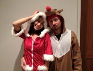 ISSAと福本幸子の画像