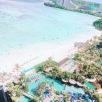 ホテル・ディシュタニグアムのプール・ビーチの感想!アクティビティも