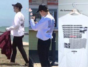 BTS,原爆Tシャツの画像