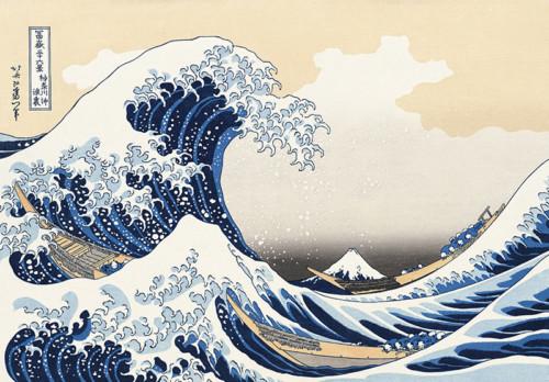 神奈川沖浪裏の画像