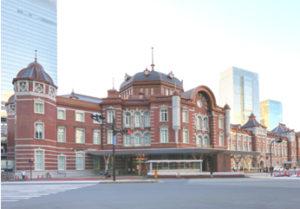 東京駅丸の内駅舎の画像