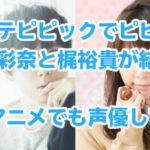 ポプテピピックでピピ美役の竹達彩奈と梶裕貴が結婚!あのアニメでも声優してた!
